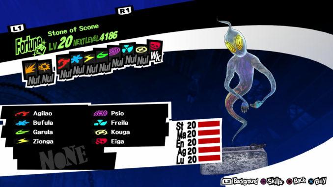 Persona 5 Stone of Scone Guide -