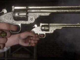 Red Dead Redemption 2 best revolver