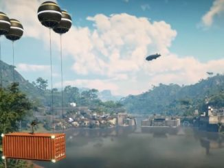 Just Cause 4 how to use air lifter