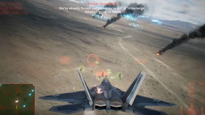 Ace Combat 7 Mission 12 Stonehenge Defensive Walkthrough -