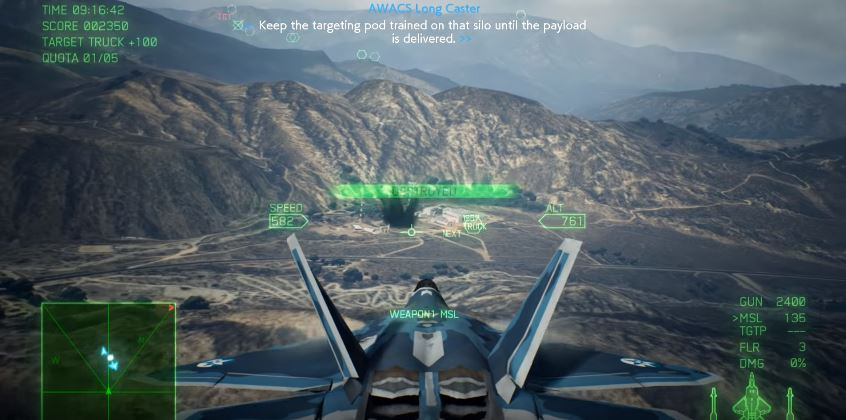 Ace Combat 7 Mission 13 Bunker Buster Walkthrough