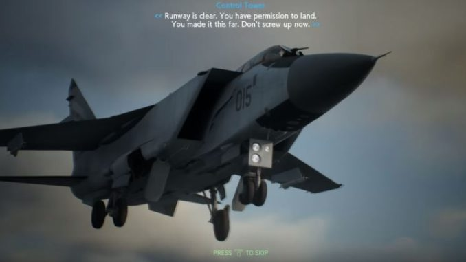 Ace Combat 7 Walkthrough (All Missions) -