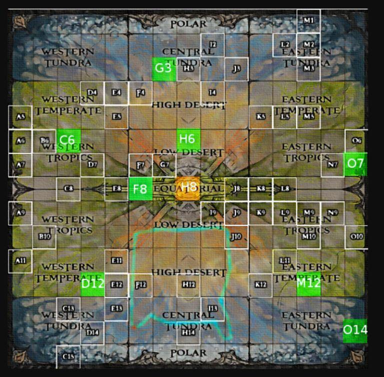 Atlas Power Stone Locations Guide -