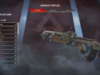 apex legends best assault rifle