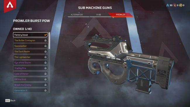 Apex Legends best SMG