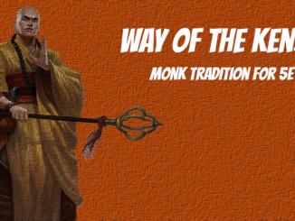kensei monk 5e