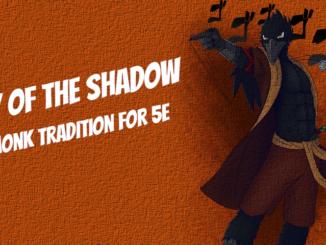 shadow monk 5e