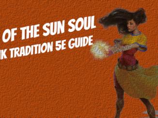 sun soul monk 5e